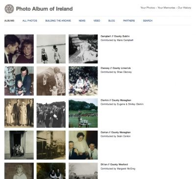 Photo Album of Ireland: Albums page