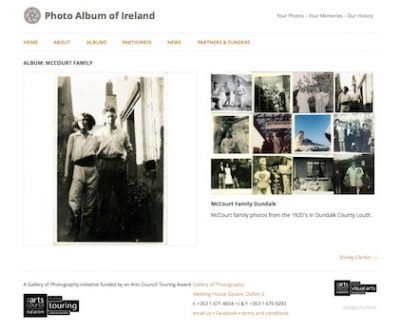 Photo Album of Ireland: single Album page