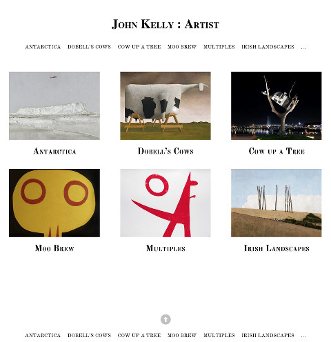 John Kelly : Artist – the Home page