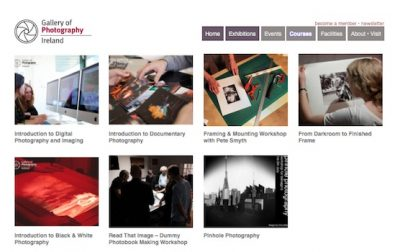 Gallery of Photography: courses listing